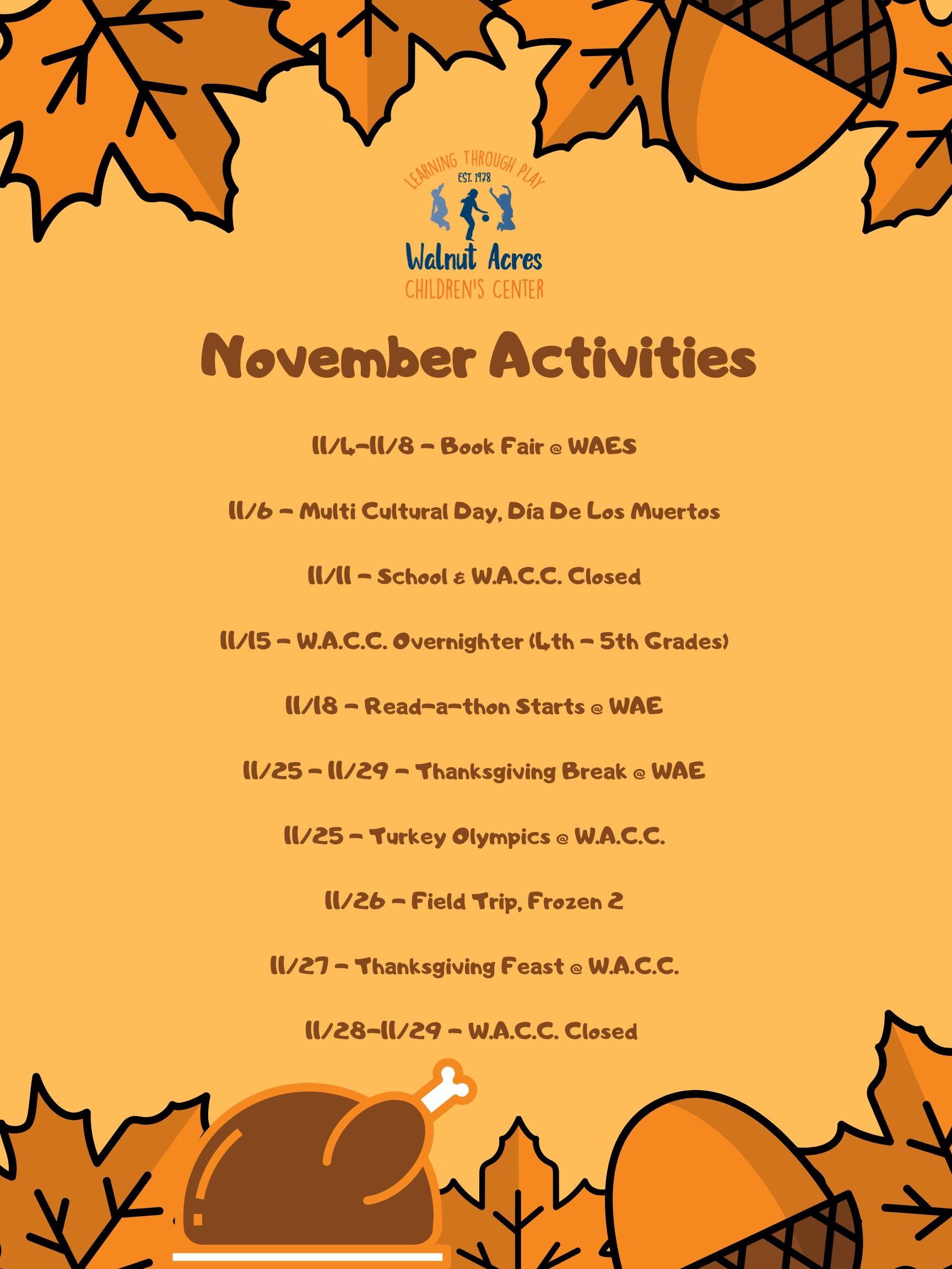 november-activities